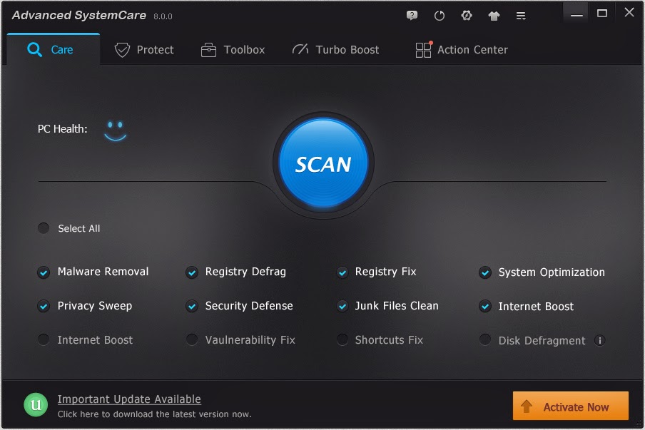advanced systemcare 10 pro crack download